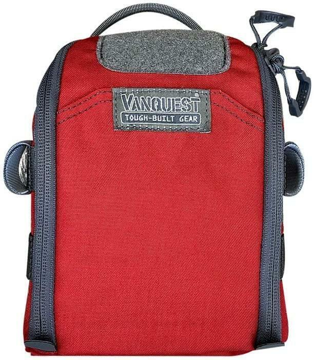 Vanquest FTIM 5x7 2nd Gen Fast Totally Integrated Organizer - Red