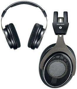 Shure SRH1840 Pro Open Back Circumaural Stereo Studio Mastering Headphones