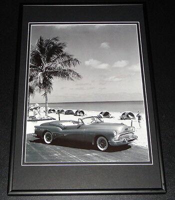1953 Buick Skylark Framed 10x14 Poster GM Official