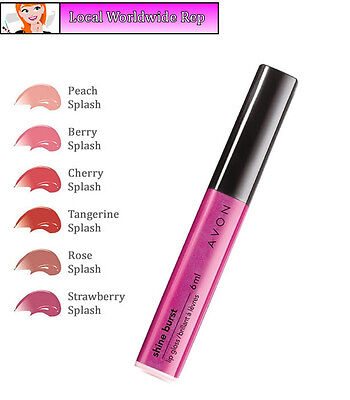 7 High Shine Lip Gloss (Avon Shine Burst Lip Gloss // Lipgloss High Shine //  Various Shades (RRP £7))
