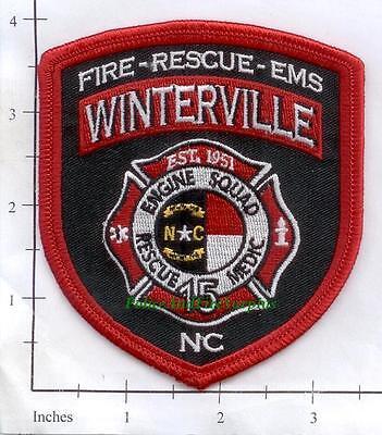 North Carolina - Winterville Station 15 NC Fire Dept Patch