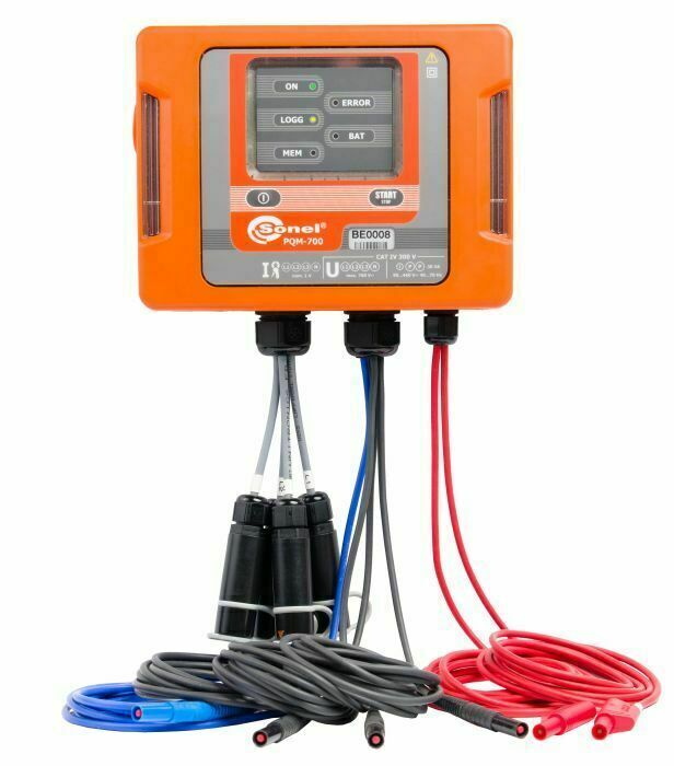 Sonel PQM-700 Power Quality Analyzer PQA 40 Hz – 70 Hz Up to 760 V
