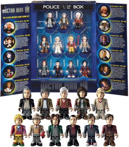 Choose Your FIGURES DR WHO MICRO FIGURES 11 DOCTORS 50th Years Anniversary
