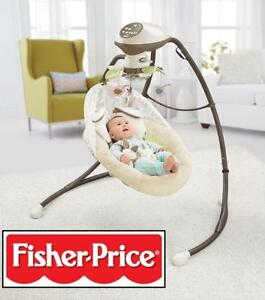 FISHER PRICE 2-MOTION CRADLE N' SWING (CCF38-9998)