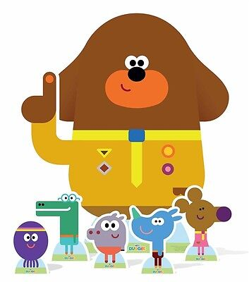 Hey Duggee and  The Squirrel Club Cardboard Cutout Set includes 6 characters](Character Cardboard Cutouts)