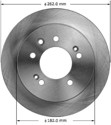 OE Replacement Rotors w//Ceramic Pads F+R See Desc. 09 Fit Hyundai Elantra Sdn