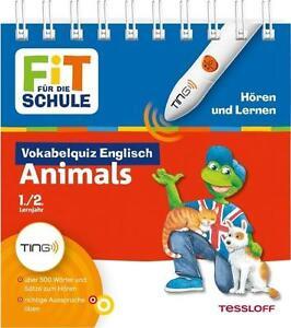 Fit für die Schule TING Vokabelquiz Englisch ANIMALS, Sach-Lehrbuch für HÖRSTIFT