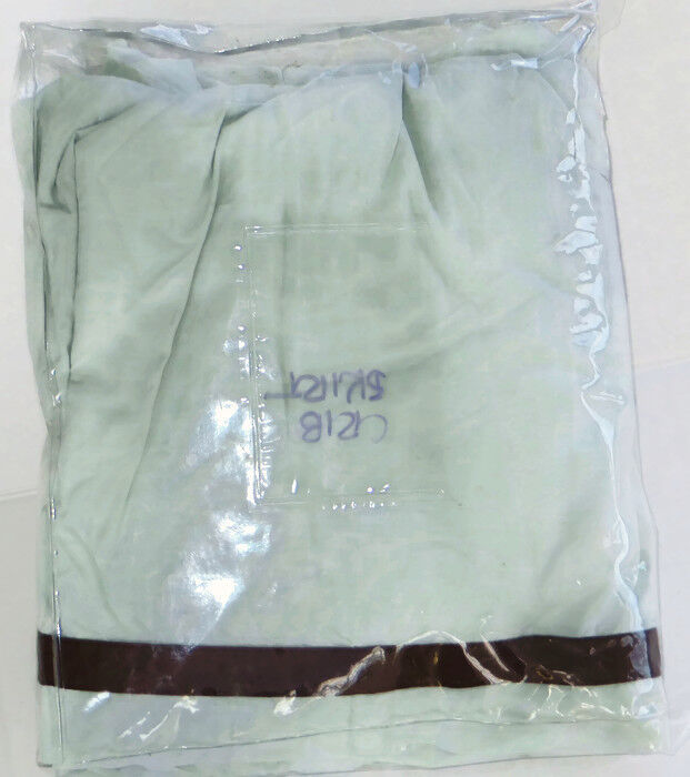 Restoration Hardware Crib Skirt European Contrast Piped Silver Mist New