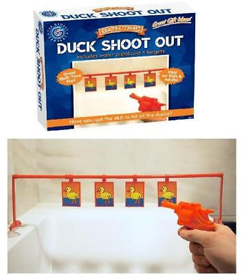Bath Time Duck Shoot Out Game Kids Adult Bath Shower Fun Filled Game Gift Play