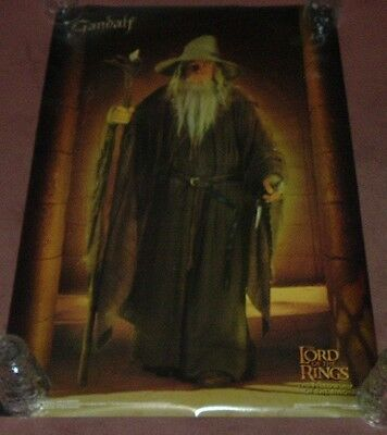 Lord of the Rings Fellowship of the Ring GANDALF Poster Promo Wall Large