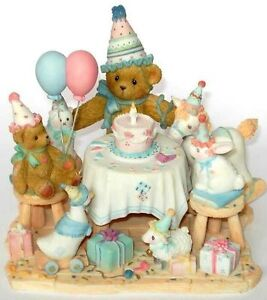 Cherished Teddies AGGIE Limited Edition Figurine Collectible