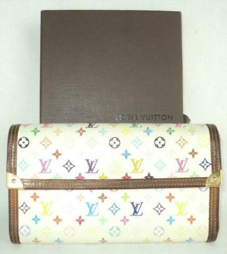 a6e5c4c1b99a3 ≥ Louis Vuitton - Multicolore Porte Tresor International Porte ...