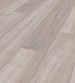 HIGH QUALITY 12MM ROCKFORD OAK (GREY) LAMINATE FLOORING - AMAZING VALUE AT JUST £10.48 M2!!