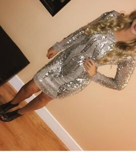 All dressed up sequin dress