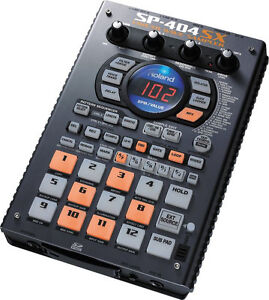 Roland SP-404SX Portable Sampler w/ Sequencer, Effects & Built-In Mic, NEW!