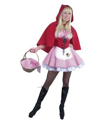 SEXY RED RIDING HOOD HALLOWEEN COSTUME ADULT SIZE X-SMALL (X Small Red Riding Hood Kostüm)