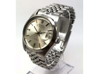 ROLEX AIR-KING DATE AUTOMATIC 5700 GENTS WATCH SILVER DIAL IN ORIGINAL CONDITION
