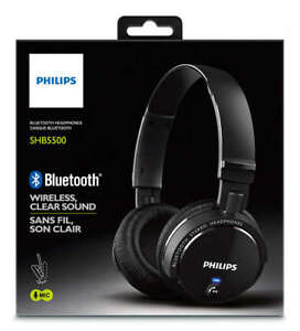 Brand New Philips SHB5500BK Wireless Bluetooth Headphones