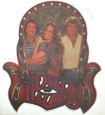 Vintage Dukes of Hazzard Iron On Transfer T-Shirt 80's Daisy Bo Luke Glitter NOS for sale  USA