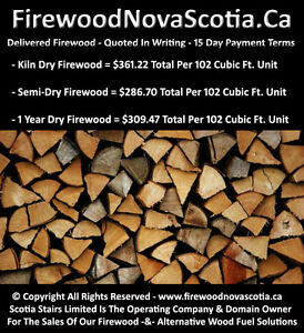*QUALITY FIREWOOD - *QUOTED IN WRITING - *15 DAY PAYMENT TERMS