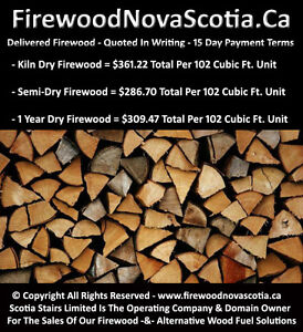 Firewood - Quoted In Writing Upfront - 15 Day Payment Terms