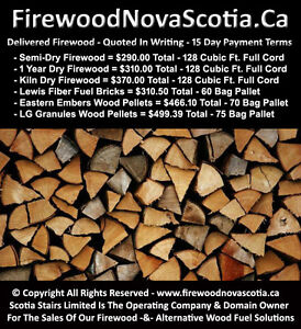 BBB A+ Rate Firewood Supplier - 15 Day Payment Terms