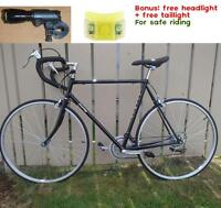 Buy road bike get front and tail lights free