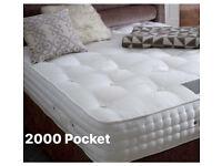 ☀️☀️ Top Quality 2000 Pocket Spring Mattress, Hulton Mattress, Pillow Top Mattress