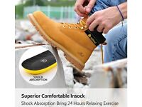 safetoe Mens Safety Steel Toe Work Boots Shoes - Goodyear Steel Toe Capped Boots