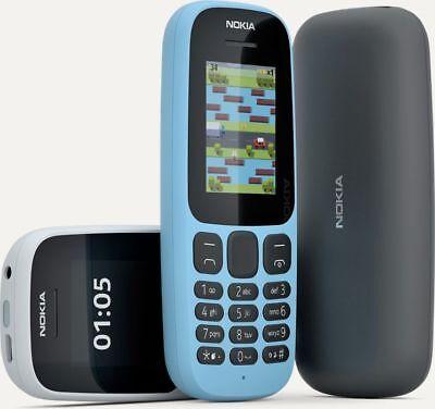 NEW Nokia 105 TA-1037 [2017] Dual-Band (850/1900) Factory Unlocked Phone Dual Band Unlocked Phone