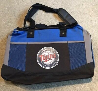 Minnesota Twins Duffle Bag Gym Bag New ()