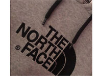The North Face grey women's hoodie- XS