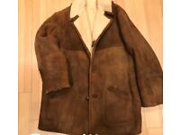 Sheepskin coat - genuine