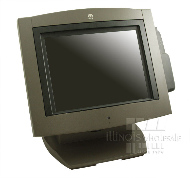 """NCR 7454-3201 12.1"""" Color Touch Screen Terminal"""