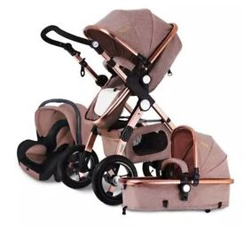 Egg Style Pushchair 3 in 1, carrycot, car seat 💺 stroller pram baby 👶