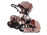 Egg Style Pushchair 3 in 1, carrycot, car seat 💺 stroller pram baby 👶