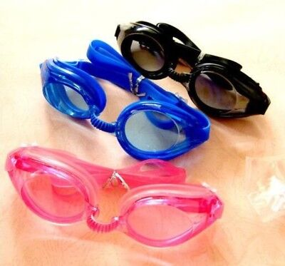 Swim Goggles for Pool Parties or Pool Sales. Package Deal. 12 Goggles Each (Swimming Goggles Sale)
