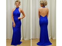 Blue formal dress size 8