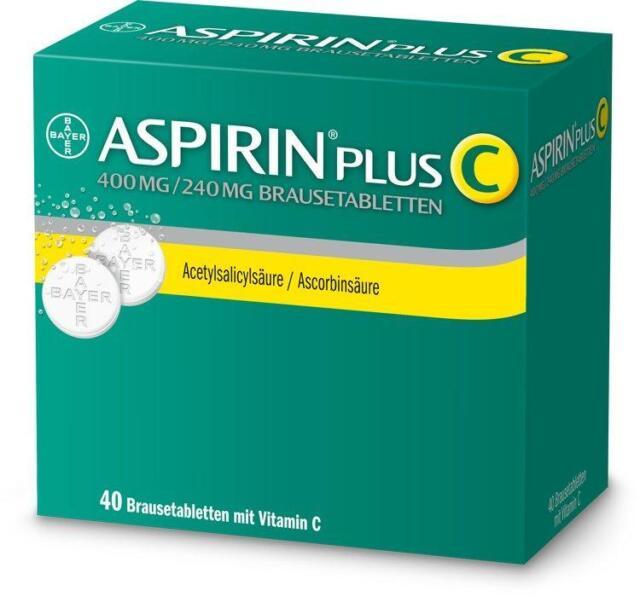 Aspirin Plus C Brausetabletten 40St PZN: 3464237