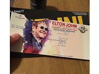 Elton John concert tickets *2, Birmingham ,£166