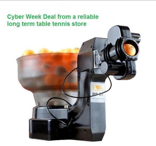 Expert seller: :HP-07 + FREE item; Ping Pong Table Tennis Robot Ball Machine