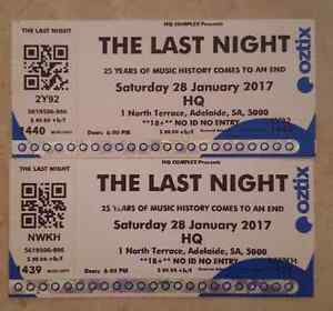 3 Hq tickets $90 each Hectorville Campbelltown Area Preview