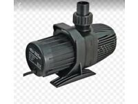 pond pump brand new boxed 3500lph