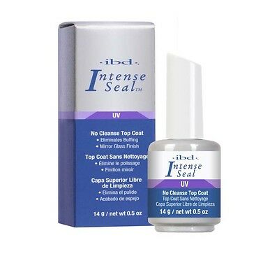 IBD INTENSE SEAL UV NO CLEANSE TOP COAT 14ml