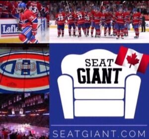 MONTREAL CANADIENS PLAYOFF TICKETS!!!