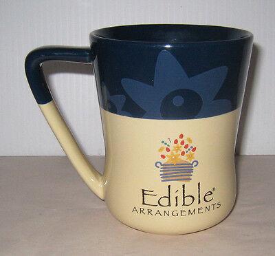 Edible Arrangements Mug Large Daisy Blue And Cream