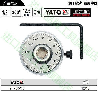 Degree Rotation Measurement Torque Angle Gauge 360 Degree 12 12.5mm