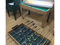 Multi Games Table Football Pool Table Tennis and other games