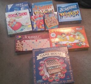 Assorted games. Take them all
