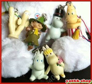 Moomin-valley-figure-for-Mobile-Phone-bag-keyring-Charms